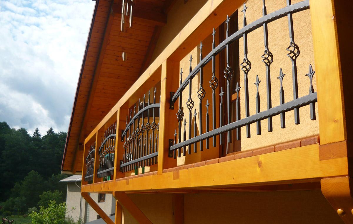 Konstrukce balkónu rodinného domu